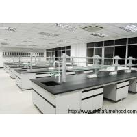 Quality Laboratory Furniture Wall Casework Bench With Full Steel Reagent Rack wholesale