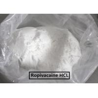 Quality USP Standard  Local Anesthetic Agents Ropivacaine /Ropivacaine HCL wholesale