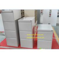Quality To offer white coler vetical filing cabinet/knocked down structure/powder coating treatment/anti-tilt device wholesale