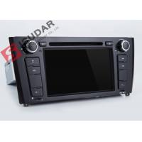 Quality 7 Inch BMW DVD GPS Navigation Multimedia Head Unit With Gps Support TPMS wholesale