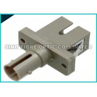 Quality ST To SC Fiber Adapter , Simplex Fiber Optical Adapter 2N - 5.9N Receptacle Retentionforce wholesale