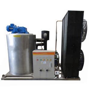 China R22 Refrigerant 3T Flake Ice Machine With Danfoss Compressor on sale