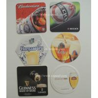 round square beer coasters paper coasters printed