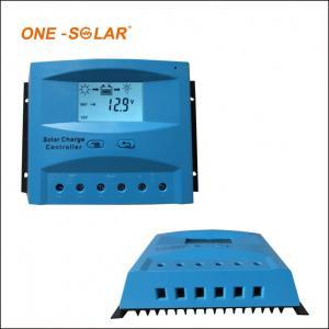 20A LCD Display PWM 12V / 24V / 48v solar panel solar energy controller
