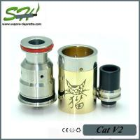 Quality Cat V2 RDA Dripping Atomizer Made Of Stainless Steel And Brass wholesale