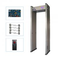 Quality Small LCD Screen Gate Metal Detector Walk Through English Operating Software Easy Operate wholesale