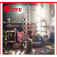 Quality 100L Home Distilling Equipment , Copper Moonshine Still For Alcohol Making wholesale