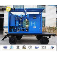 Quality Mobile Type Transformer Oil Purifier High Vacuum Dehydration Insulating Oil Purifier 9000LPH wholesale