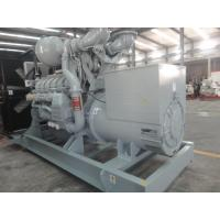 Quality MITSUBISHI Engine Industrial Diesel Generators Over Load Protection 1000KW /1250KVA wholesale