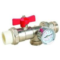 Quality 3 Way Ball Valve with Water Meter (HL1106) wholesale