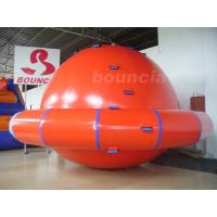Quality Commercial Grade PVC Tarpaulin Inflatable Saturn Rocker For Water Park Games wholesale