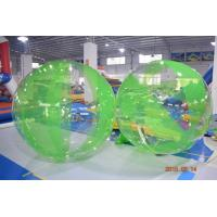 Quality Colored Inflatable Water Volleyball Ball / Walking Ball With Logo Printed wholesale