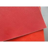 China Silicone rubber coated fabric on sale