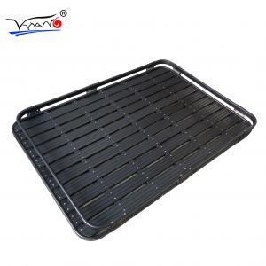 Quality Aluminium Luggage Roof Rack Basket For Toyota Prado Black Color F006A Model wholesale
