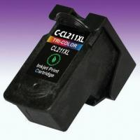 China Remanufactured Ink Cartridge for CL-211XL, Suitable for Canon Pixma Inkjet Printer on sale