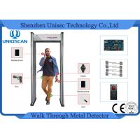 Quality Economic Walk Through Security Metal Detector For Multi-Zone Airport wholesale