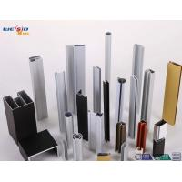Quality Custom Alloy 6063 T 5 Aluminium Door Profiles With Powder Coating wholesale
