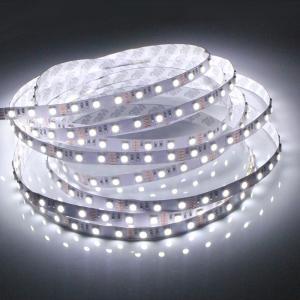 Quality DC12V - 24V 60 leds 4.8W SMD3528 LED Strip 4000K - 5000K Day White , Flexible Led Strip Light wholesale