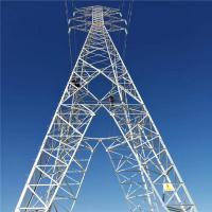 China Double Circuit Lattice Steel Towers Overhead Transmission Line Tower Anti Rust on sale