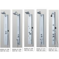 Quality Rainfall shower screen Shower Columns Panels Rectangle type 150 X 23 / cm wholesale