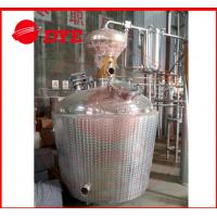 Quality Custom Craft Copper Distillation Column For 90% Alcohol Concentration wholesale