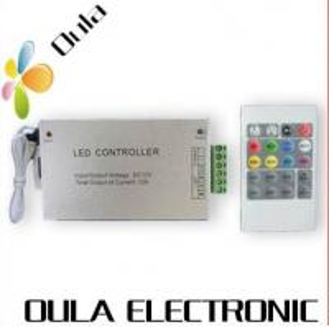 Quality Aluminum 12V DC 20 Key RF LED Strip Light Connector For Adjust Brightness Infinitely wholesale