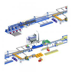 China EPS Sandwich Panel Making Machine Lightweight Wall Panel Making Machine on sale