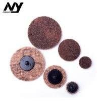Quality 2 Inch Quick Change Abrasive Discs Metal Polishing TS TR Type Support  Flax Nylon wholesale