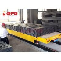 Quality Steel Factory Handler Electric Rail Transfer Car , DC Motor Material Handling Equipment CE / ISO Certificate wholesale