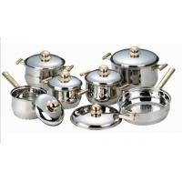 Quality 12 pcs classic stainless steel cookware set/kitchenware set/Houseware wholesale