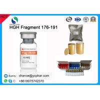 Quality Fat Burning and Bodybuilding Growth Hormone HGH Fragment 176-191 CAS 158861-67-7 With 5mg/Vial 10mg/vials wholesale