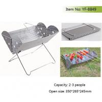 China Balcony portable charcoal BBQ grill on sale
