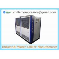 Quality 25HP 18 TR Air Cooled Water Chiller with Internal Water Tank And Pump wholesale