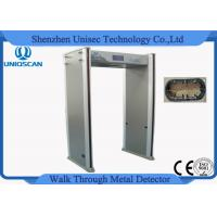 Quality Gate Airport Metal Detector Archway , Walk Through Security Scanners 18 Detecting Zones wholesale