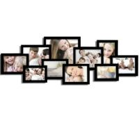 Quality Decorative Black Wood Wall Hanging Collage Picture by Adeco OOO wholesale