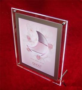 Quality acrylic vase with photo frame wholesale