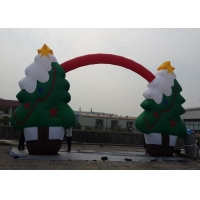 China Party Christmas Tree Decoration Inflatable Arches Event Snowflake on sale