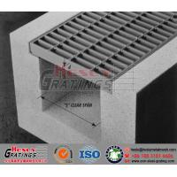 China Steel Trench Grating| Drainage Steel Grating cover on sale