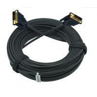 China 4K@30hz DVI AOC fiber cable over fiber optic  without power supply on sale