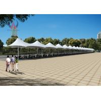 Buy cheap Heavy Duty Car Parking Tensile Structure Customized Height Sunshine Proof product
