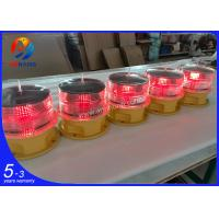 Quality Integrated solar-powered low intensity steady burning aircraft warning lights ,Low intensity aviation obstruction lamps wholesale