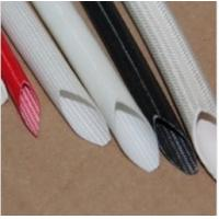 Cheap Silicone Rubber Cable Sleeve Coated Fiberglass Insulating Tubefor Electrical for sale