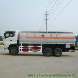 Quality DFA 6x4 LDH / RHD Oil Delivery Truck With 22CBM Aluminium Alloy Tank wholesale