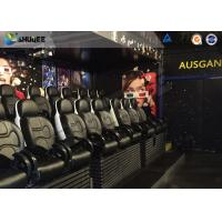 Quality Interactive Definition Viewing 5D Movie Theater For Business Center wholesale