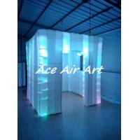 Quality bright led portable inflatable photo booth with window for wedding wholesale