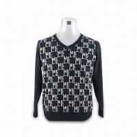 Quality Men's Sweater, Made of Rabbit Hair, Comfortable to Wear, with Fashionable Design wholesale