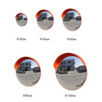 Quality ABS Base PC Outdoor Road Safety Convex Accent Mirror , Convex Mirror 800mm wholesale