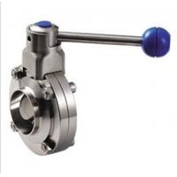 Quality Stainless Steel Threaded Butterfly Valve With Plastic Ball Handle wholesale