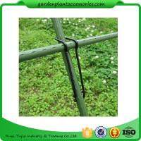 Quality Black Garden Plant Accessories Wire  Buckle Gardening Cross Pillar Connecting Pieces wholesale