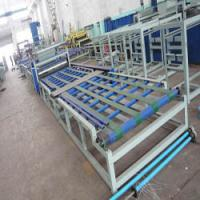 China PLC Automatic Control System MgO Sandwich Panel Machine for Fireproof Door Making on sale